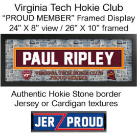 JerZ Hokie Club Proud Member