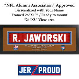 JerZ Proud NFL Alumni