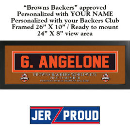 JerZ Proud Browns Backers Club