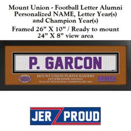 JerZ Proud Mount Union Alumni Champion