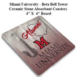 Coaster Set of 4 – Miami Beta Bell