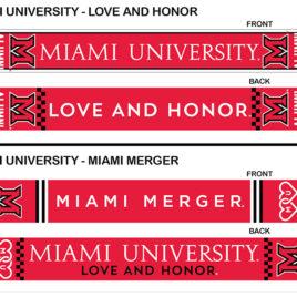 Miami University Deluxe Scarves