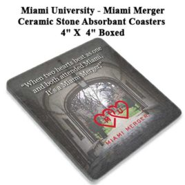 Coaster Set of 4 – Miami Merger