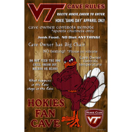VT Fan Cave Plaque – Hokie Club