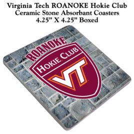Coaster Set of 4 – Roanoke Hokie Club