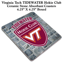 Coaster Set of 4 – Tidewater Hokie Club