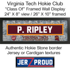 JerZ Proud VT Hokie Club Class