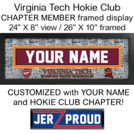 JerZ Hokie Club Chapter Member